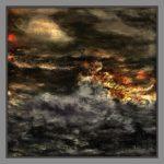 Das Meer Brandung Öl Auf Leinwand 60 cm x 60 cm Mischtechnik www.visuellewelt.de