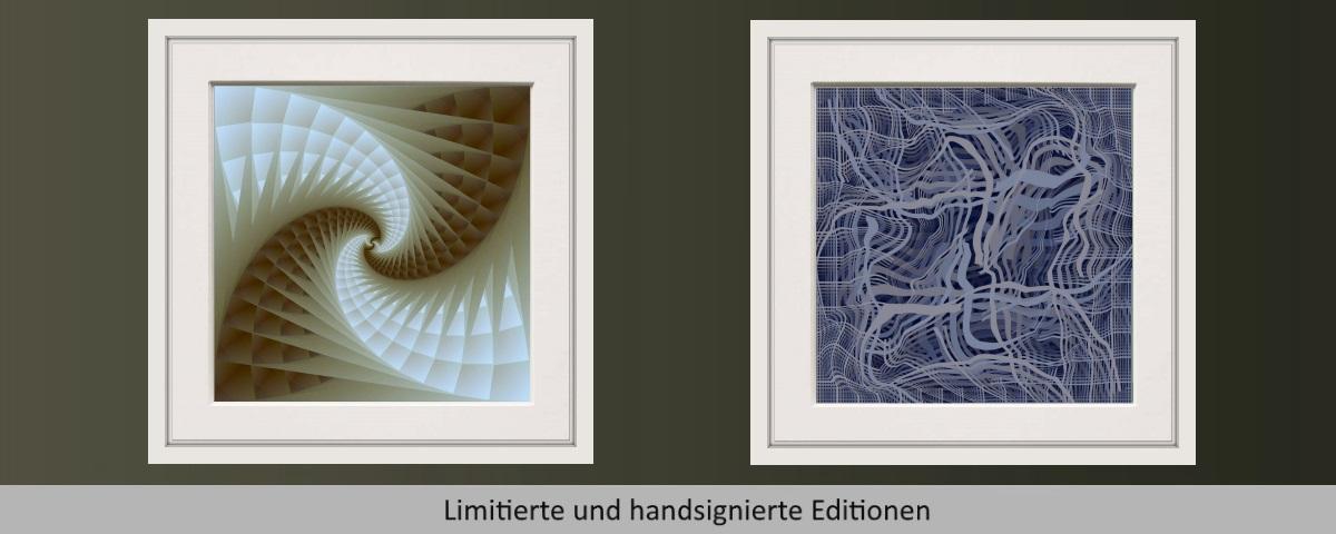 Signiert und Datiert, Farbdruck auf Papier, ungerahmt, Format: 50 x 50 cm, copyright www.visuellewelt.de